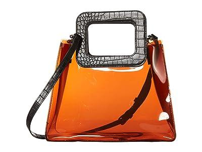 Vince Camuto Kenni Satchel (Mahogany) Satchel Handbags