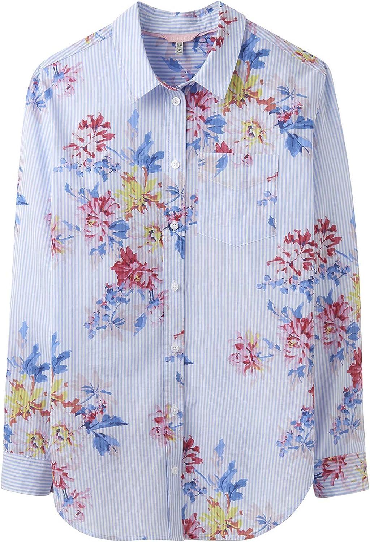 Joules Womens Laurel Cotton Longline Shirt