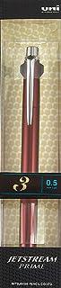 三菱鉛筆 3色ボールペン ジェットストリームプライム 0.5 ダークボルドー SXE3300005D65