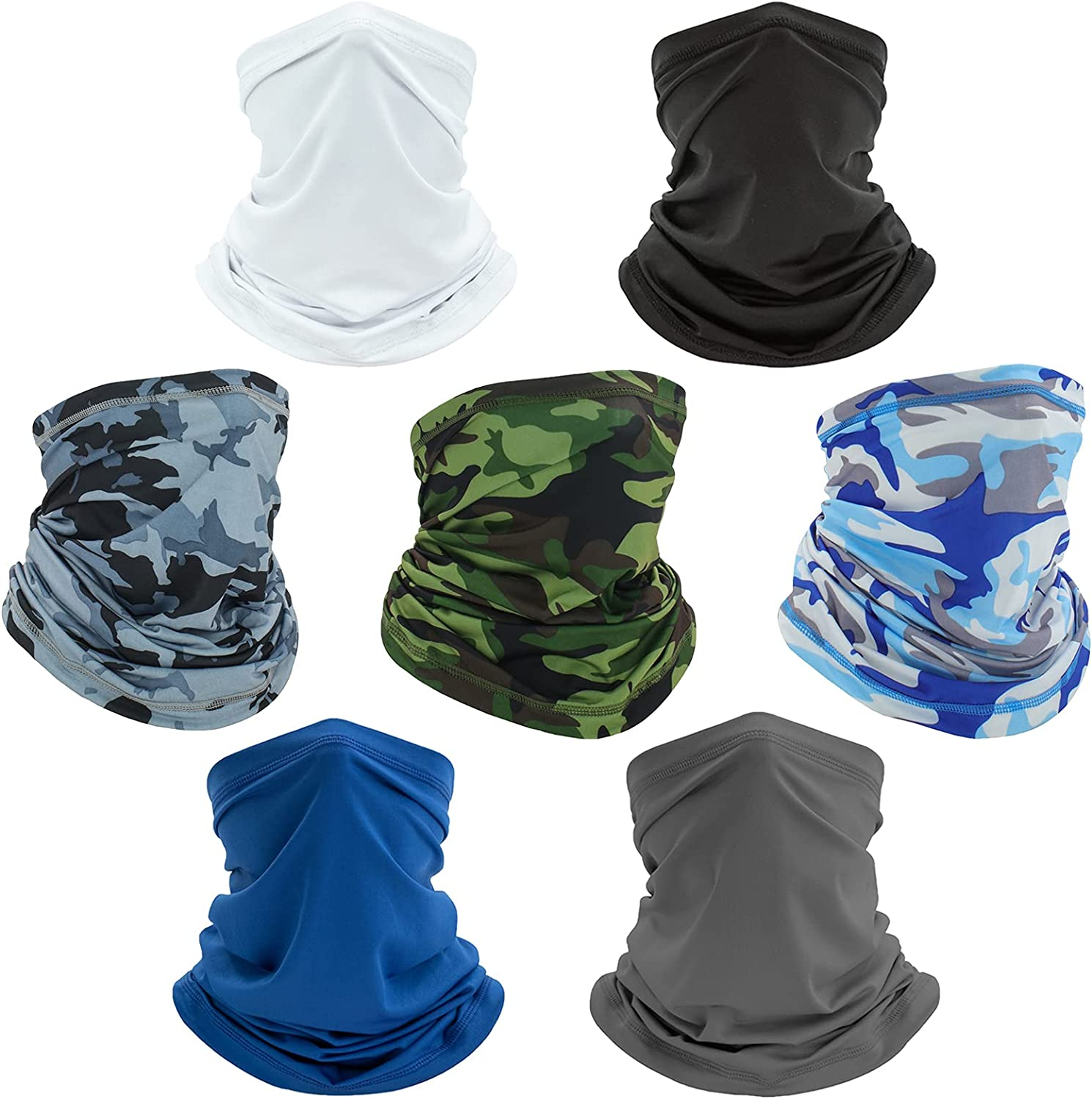 Scarf of Man/Women,Outdoor Sun UV Protection,Cool Lightweight, Breathable,Windproof