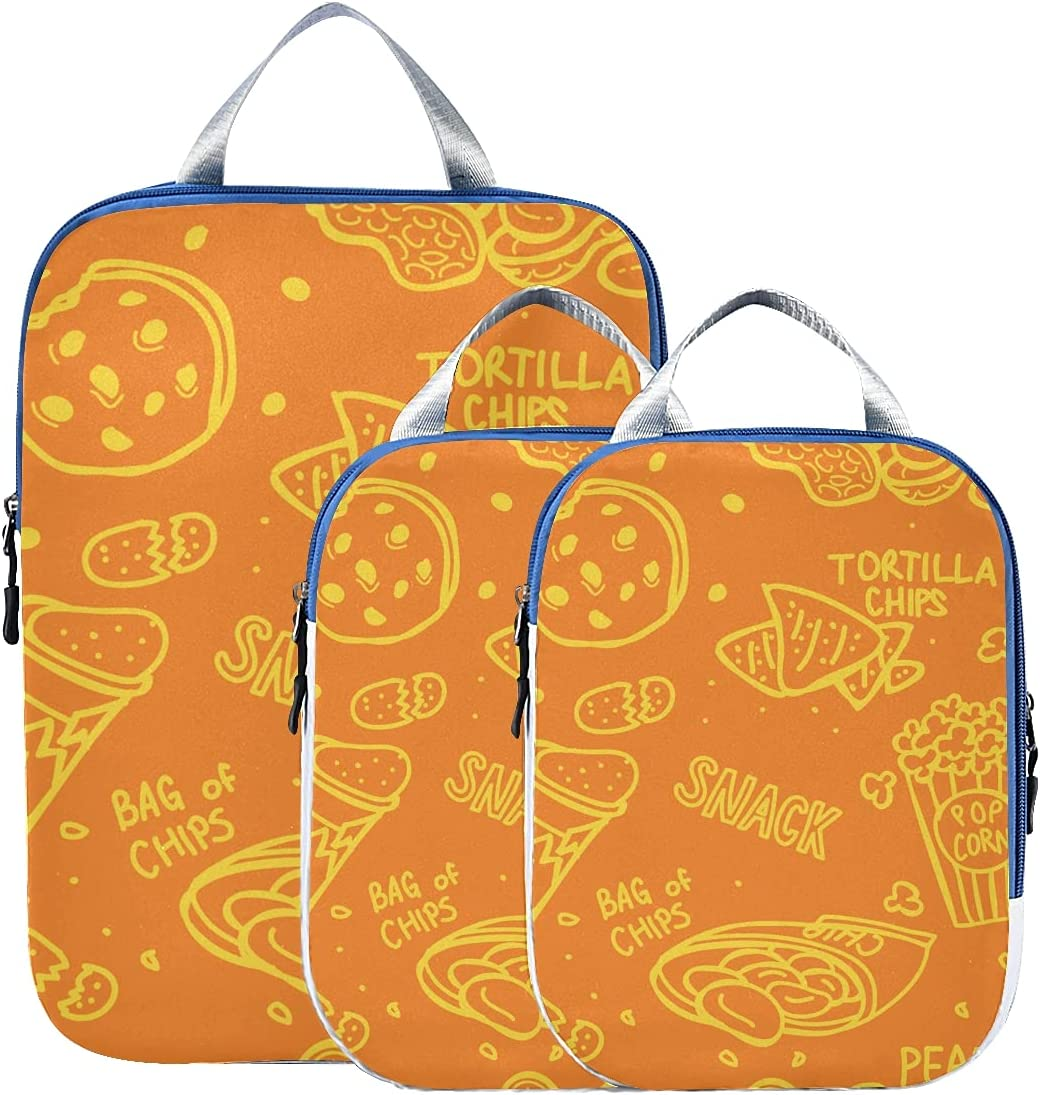 Luggage Packing Cubes Max 90% OFF Indefinitely Delicious Thin Snacks Potato P Chips Crisp