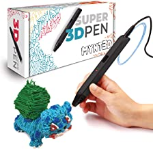 قلم سه بعدی MYNT3D - نمایش ایده ها و طراح های خلاقانه و شامل سه رنگ آداپتور، رشته پلاستیکی وقلم لمسی ارگونومیک