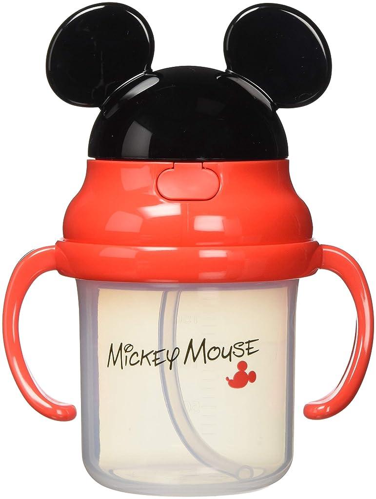 確保する博物館略すスケーター ベビー ストローマグ 230ml 両手  8ヶ月頃から ミッキーマウス ディズニー KSH2D