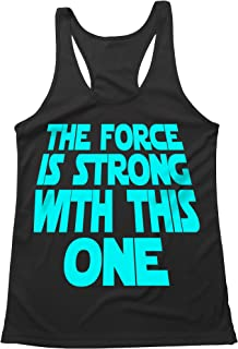 Quick Dri - Flow Fit - Running Tank Top - The Force is Strong with This ONE - Star Wars Inspired
