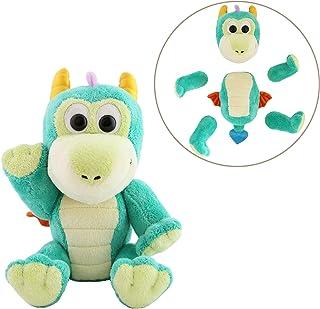 "Animoodles磁性填充动物毛绒玩具 Animoodles Odin Dragon 7.5"" 蓝*"