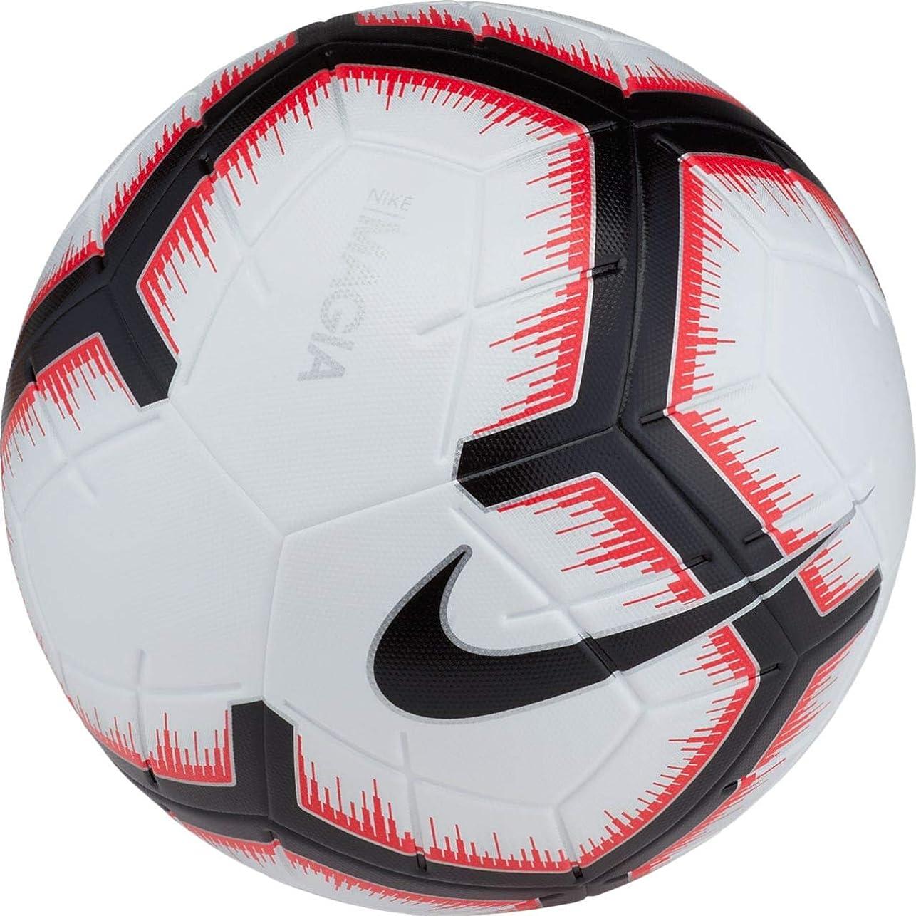 ハブブ有効丘ナイキ サッカーボール 5号球 マジア SC3321-100 FA18WHTBLK 5