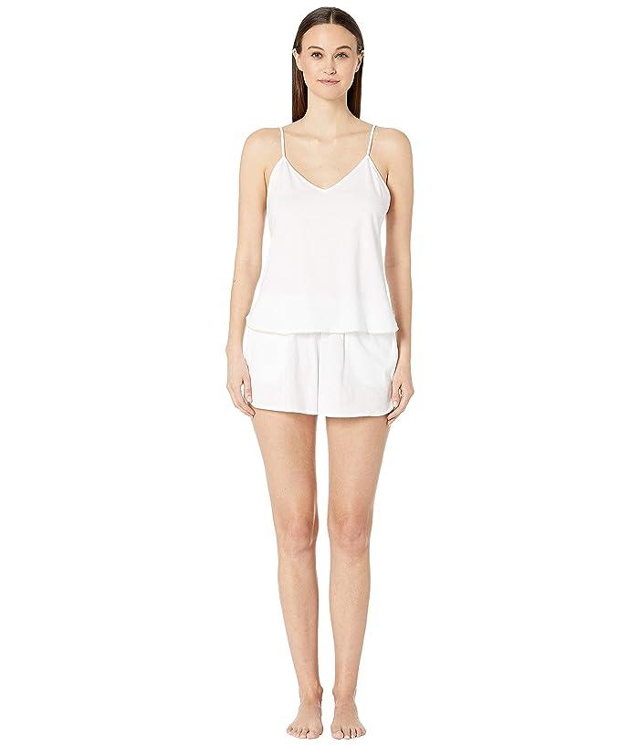 Skin Cami/Shortie Gift Set (White) Women