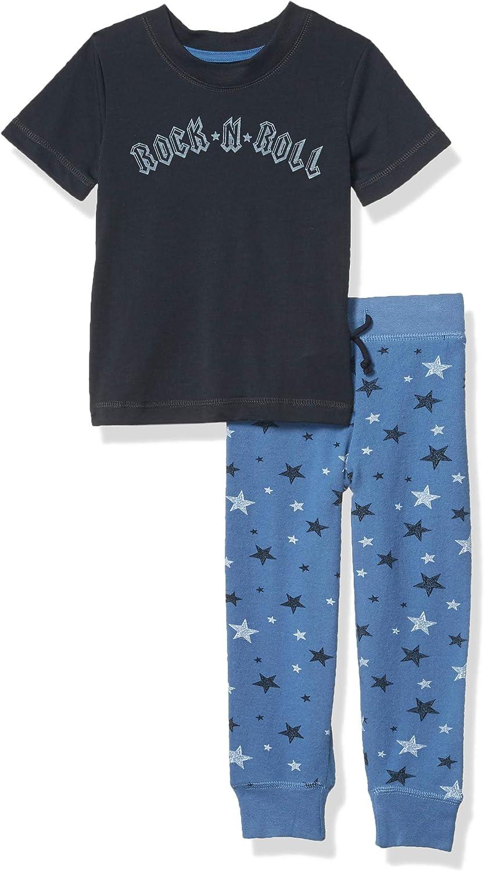 PJ Columbus Mall Salvage Kids Max 87% OFF Boys' Sleepwear Botto and Top Short Sleeve