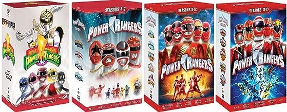 Power Rangers Complete Series Box Sets (SEASONS 1 - 17) [DVD] [1993 - 2009]