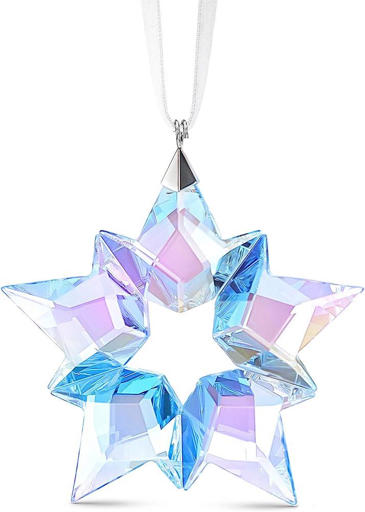 Swarovski, ice star ornamento, cristallo, chiaro multicolore 5576238