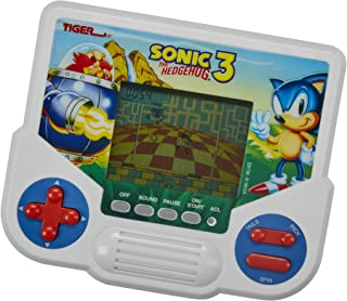 Tiger Electronics Sonic the Hedgehog 3 Electronic LCD Video Game, Retro-Inspired Edition, Handheld 1-Player Game, Ages 8 a...
