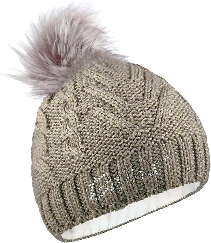 Eisbr Damen Mütze Lina Lux Crystal