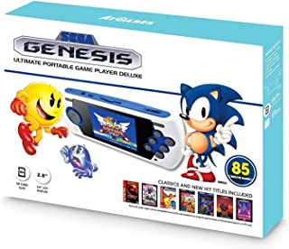 SEGA Genesis Ultimate Portable Game Player Deluxe 85 Games Especial Edition