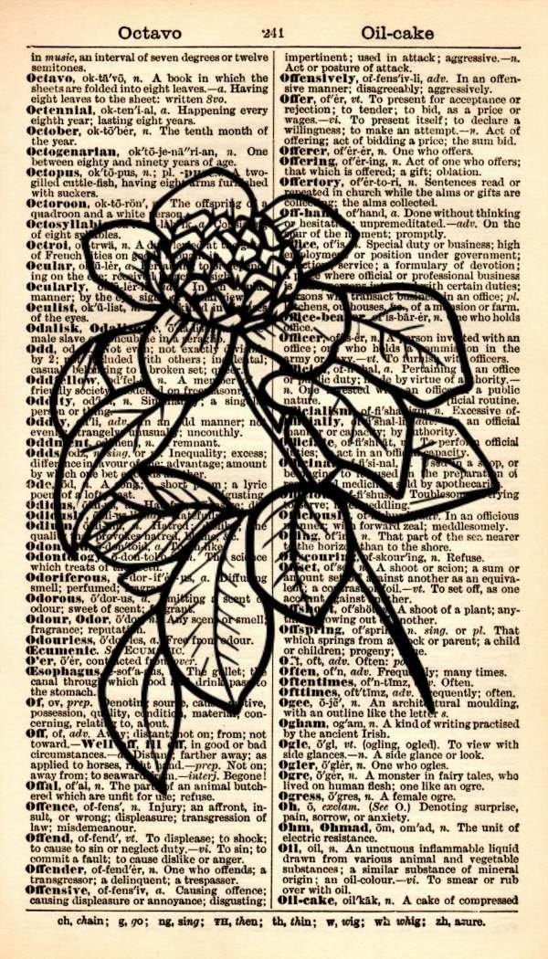 Flower Limited time cheap sale Art Print - Botanical Flo Vintage Ranking TOP18