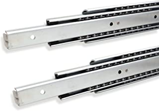 1 par (2 PIEZAS) SO-TECH® Guía para Cajón de Extracción Total 600 mm Capacidad de Carga 80 kg Carril de Cajón