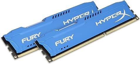 Kingston HyperX FURY 8GB Kit (2x4GB) 1333MHz DDR3 CL9 DIMM - Blue (HX313C9FK2/8)