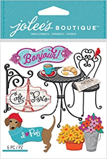 Jolee`s Boutique Dimensional Stickers, Cafe Paris