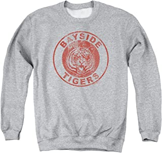 Saved By The Bell Men's Tigers Sweatshirt Athletic Heather