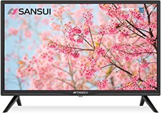 SANSUI 24 Inch TV 720P Basic S24 LED HD TV High Resolution Flat Screen Television Built-in HDMI,USB,VGA Ports - Refresh Ra...