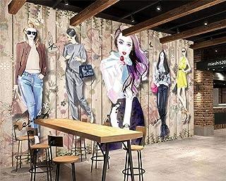 Fondo de pantalla personalizado Moda hecha a mano Ropa de belleza Aparador Fondo Pared Mural decorativo Papel tapiz 3D Pap...