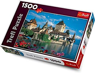 Trefl Oberhofen Castle, Switzerland 1500 Piece Jigsaw Puzzle
