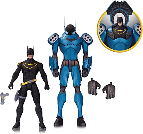 DC Direct - Dc Design Ser Batman by Capullo Set 2 Pack Action Figure - Action FiguresAction Figures