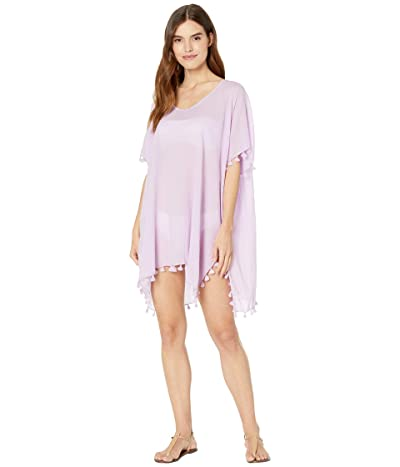 Seafolly Amnesia Kaftan Cover-Up (Lilac) Women