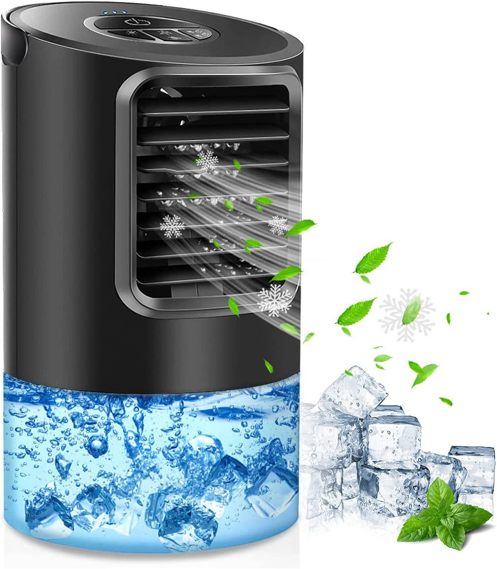 Portable Air Our shop most popular Conditioner Fan Oakland Mall Desk Cooler Upgraded Personal
