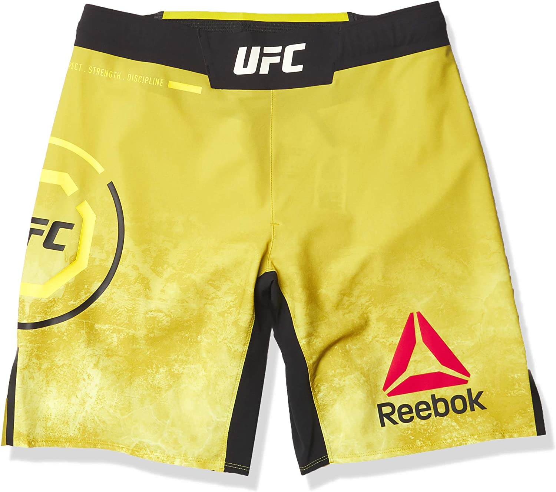 Max Popular popular 88% OFF Reebok Men's UFC Fight Short Octagon Authentic Night