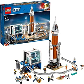 LEGO City Space Port Deep Space Rocket and Launch Control for age 7+ years old 60228