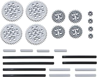 LEGO 26pc Technic gear & axle SET #2 (Mindstorms nxt EV3 robot lot pack hobby NEW)