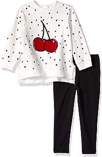 Little Me Girls' Toddler Sweatshirt Set