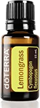doTERRA - Lemongrass Essential Oil - Supports Healthy Digestion, Used for Soothing Massage and Refreshing Feeling; for Diffusion, Internal, or Topical Use - 15 mL