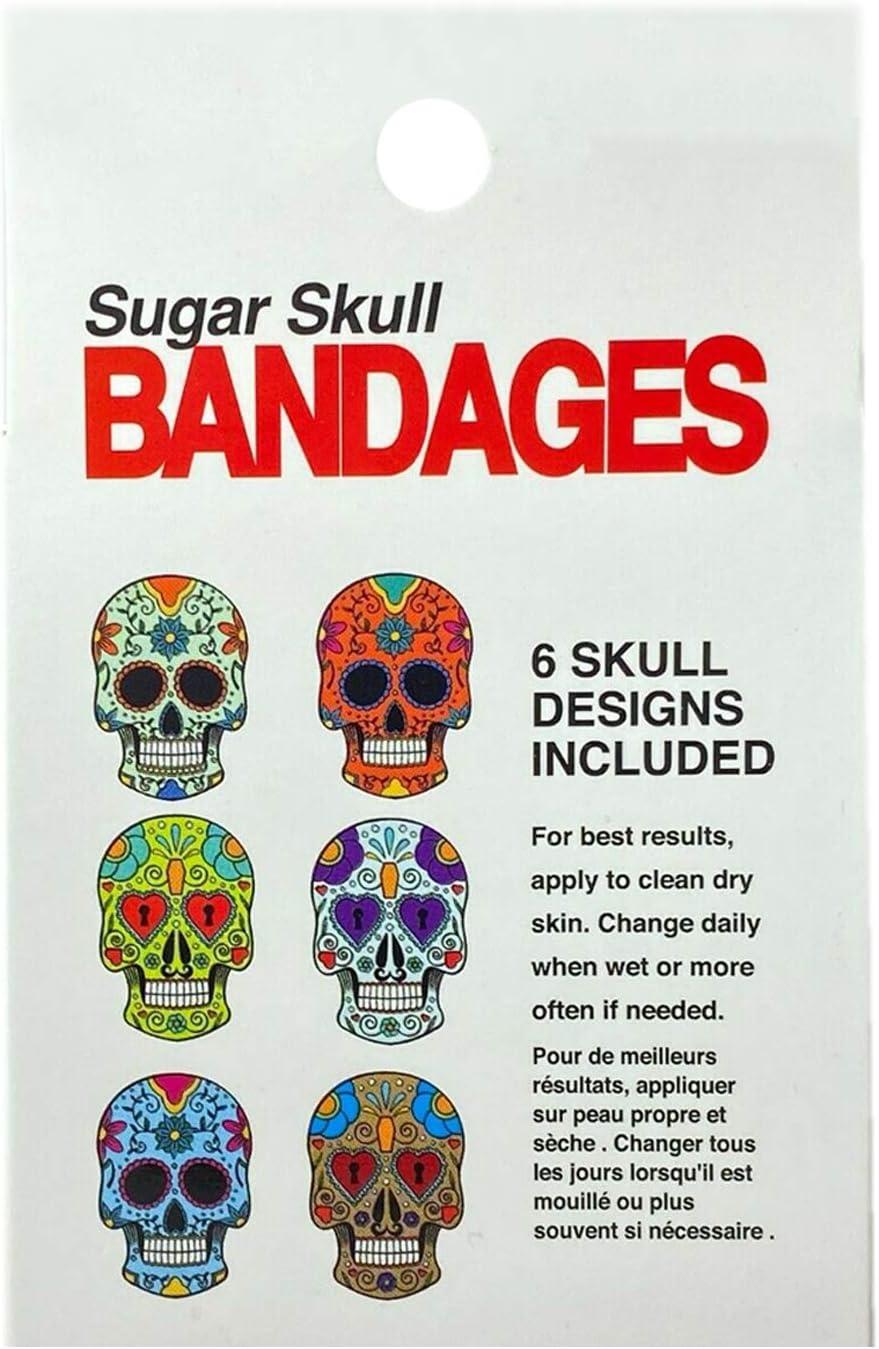 Bioswiss Skull Design Bandage .8 Oz 24 count