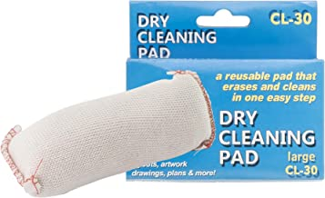 Pacific Arc Dry Cleaning Pads Large for Drafting, Art, Architecture, and Graphite