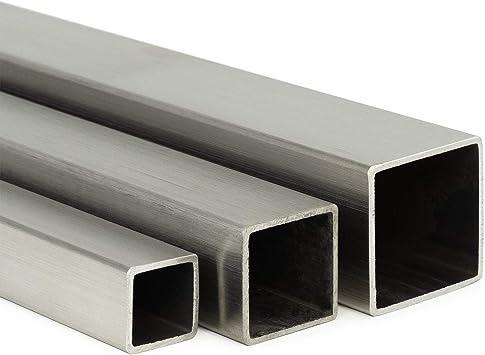 L: 700mm Edelstahl Vierkant VA V2A blank h11-12x12mm 70cm auf Zuschnitt