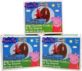 Best peppa chocolate eggs Reviews