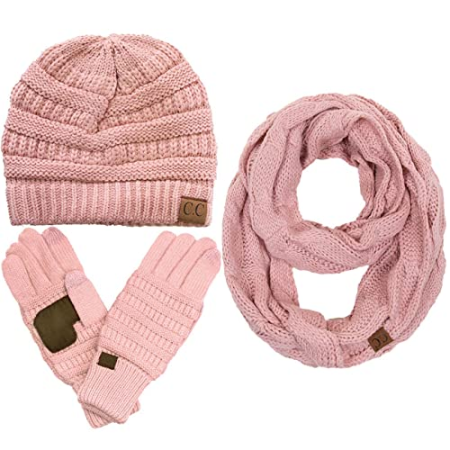 5ff93a253 CC Hat and Scarf: Amazon.com