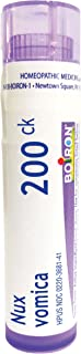 Boiron Nux Vomica 200CK, 80 Pellets, Homeopathic Medicine for Hangover Relief