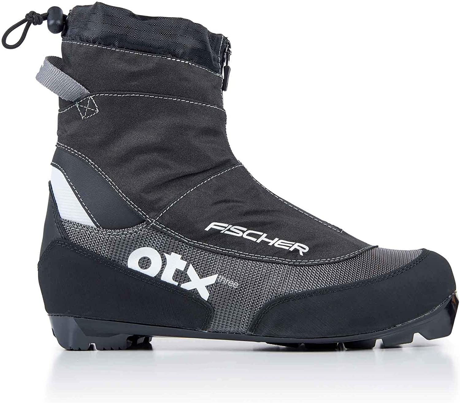 Translated Fischer Offtrack 3 XC Max 43% OFF Boots Silver Black 18-13.5 - 17