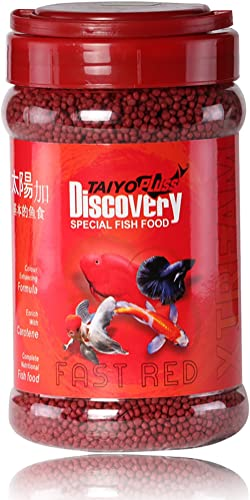 Taiyo Pluss Discovery Xtream Fast Red Fish Food, 330gm with Extra 10 Percent