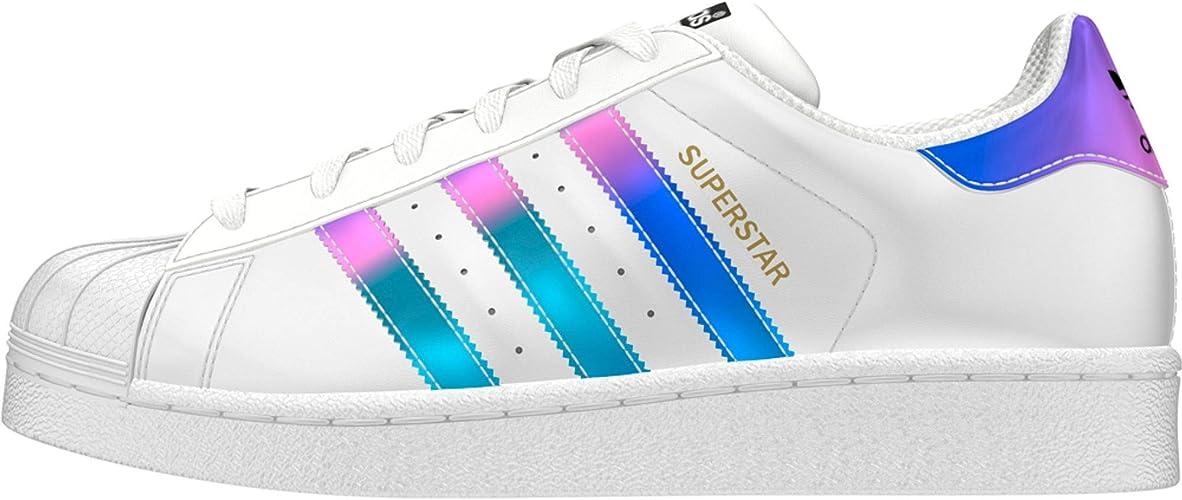 adidas Originals Superstar, Baskets Mode Homme, Noir, 39 EU ...
