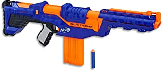 Nerf Elite - Delta Trooper Blaster - Customizable  - Inc 12 Elite Darts & Clip - Kids Toys & Outdoor Games - Ages 8+