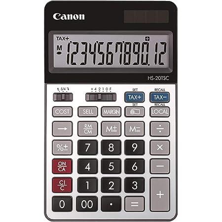 キヤノン 商売計算電卓 HS-20TSC 12桁 卓上電卓