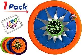 JA-RU Soft Frisbee Throwing Disc Splash Fun Aqua Flyer 12