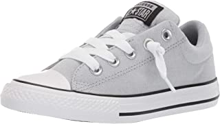 Converse Unisex-Child Kids' Chuck Taylor All Star Street Knotted Laces Slip on Sneaker