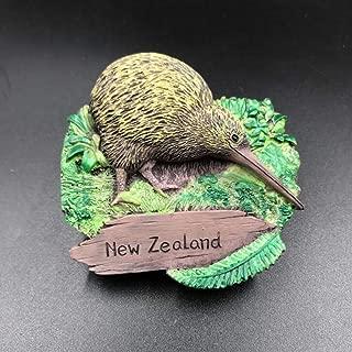 New Zealand Kiwi Flightless Bird Animal Collection Resin 3d Fridge Magnet
