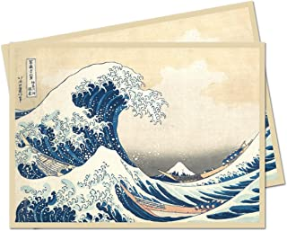 Ultra Pro Fine Art Series The Great Wave Off Kanagawa Standard (Magic) Deck Protector Sleeves (65 Count Pack)