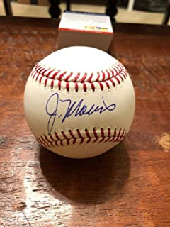 Jack Morris Autographed Signed Memorabilia Official Major League Baseball PSA/DNA COA Minnesota Twins