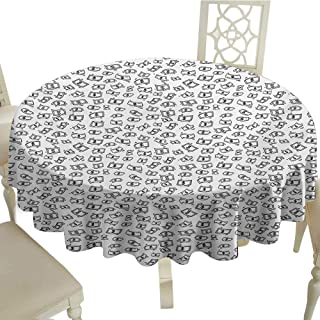 Outdoor Round Tablecloth Rectangular 70 Inch Money,Sketch Style Monochrome Raining Dollar Bills Cash Money Flying Bank Notes Design,Black White Perfect for Spring,Summer,Farmhouse Décor,& More